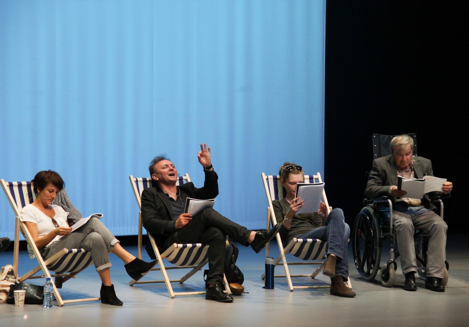 """""""Noc Iguany"""" - performatywne czytanie dramatu by FASHION ART MEDIA"""