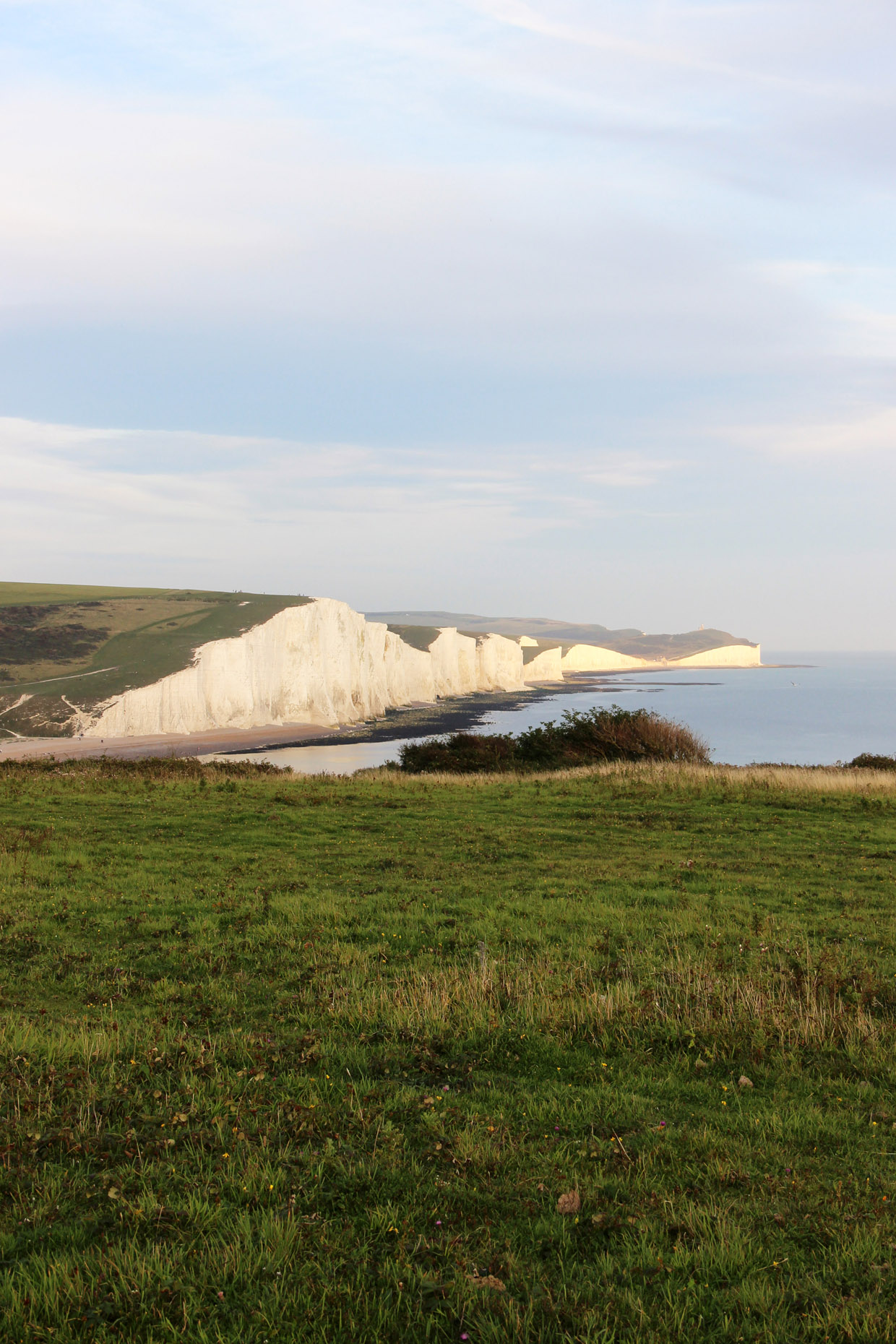 seven sisters cliffs eastbourne by fashion art media