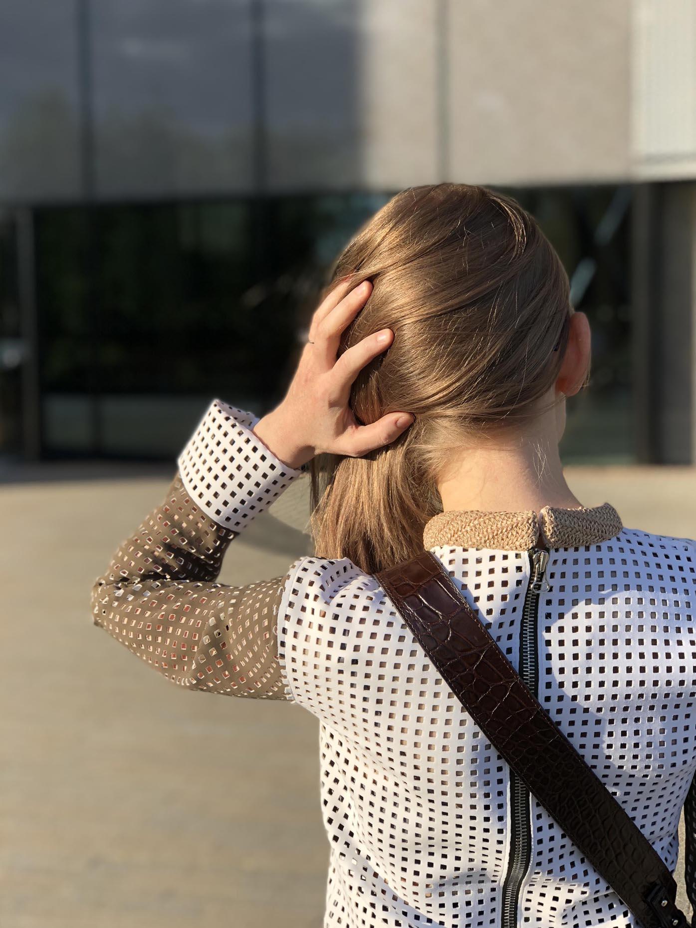 jw anderson top, saddle bag zofia chylak by Fashion Art Media