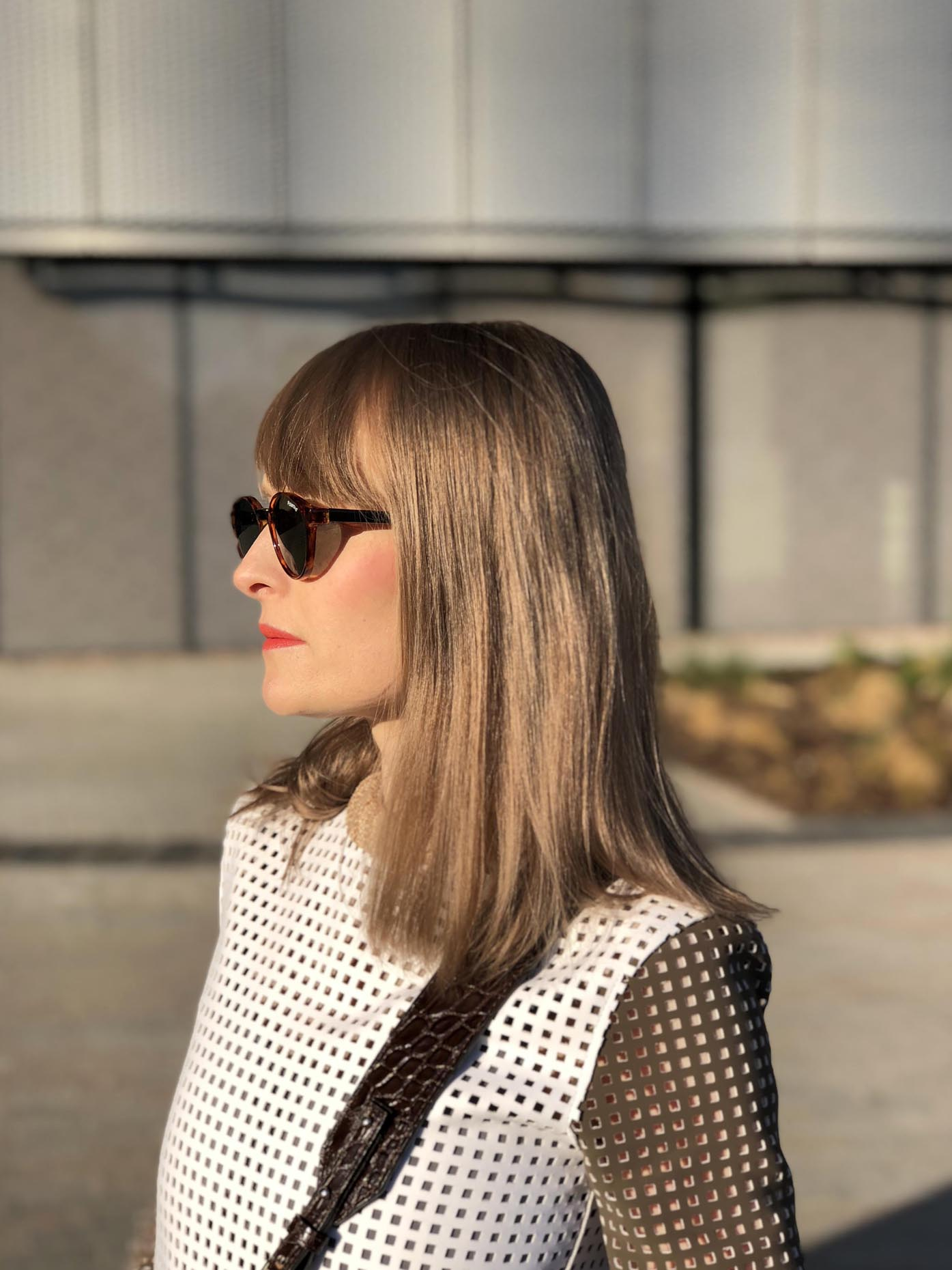 polaroid sunglasses, jw anderson top, saddle bag zofia chylak by fashion art media