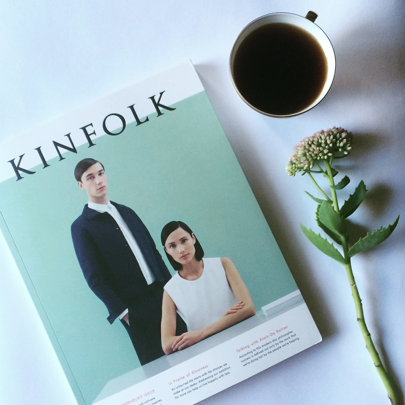 Kinfolk magazine by FASHION ART MEDIA