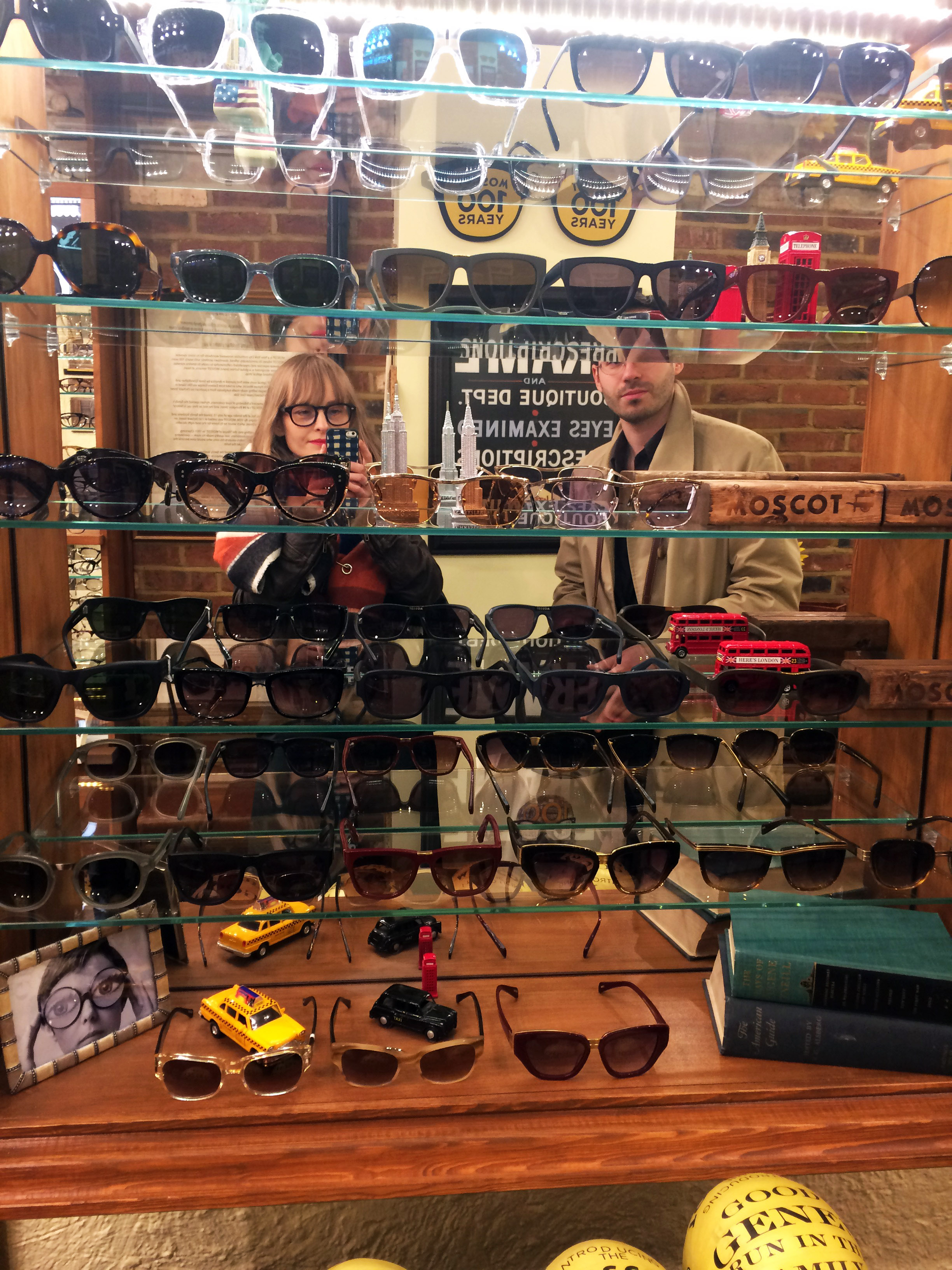 Moscot London Store by FASHION ART MEDIA