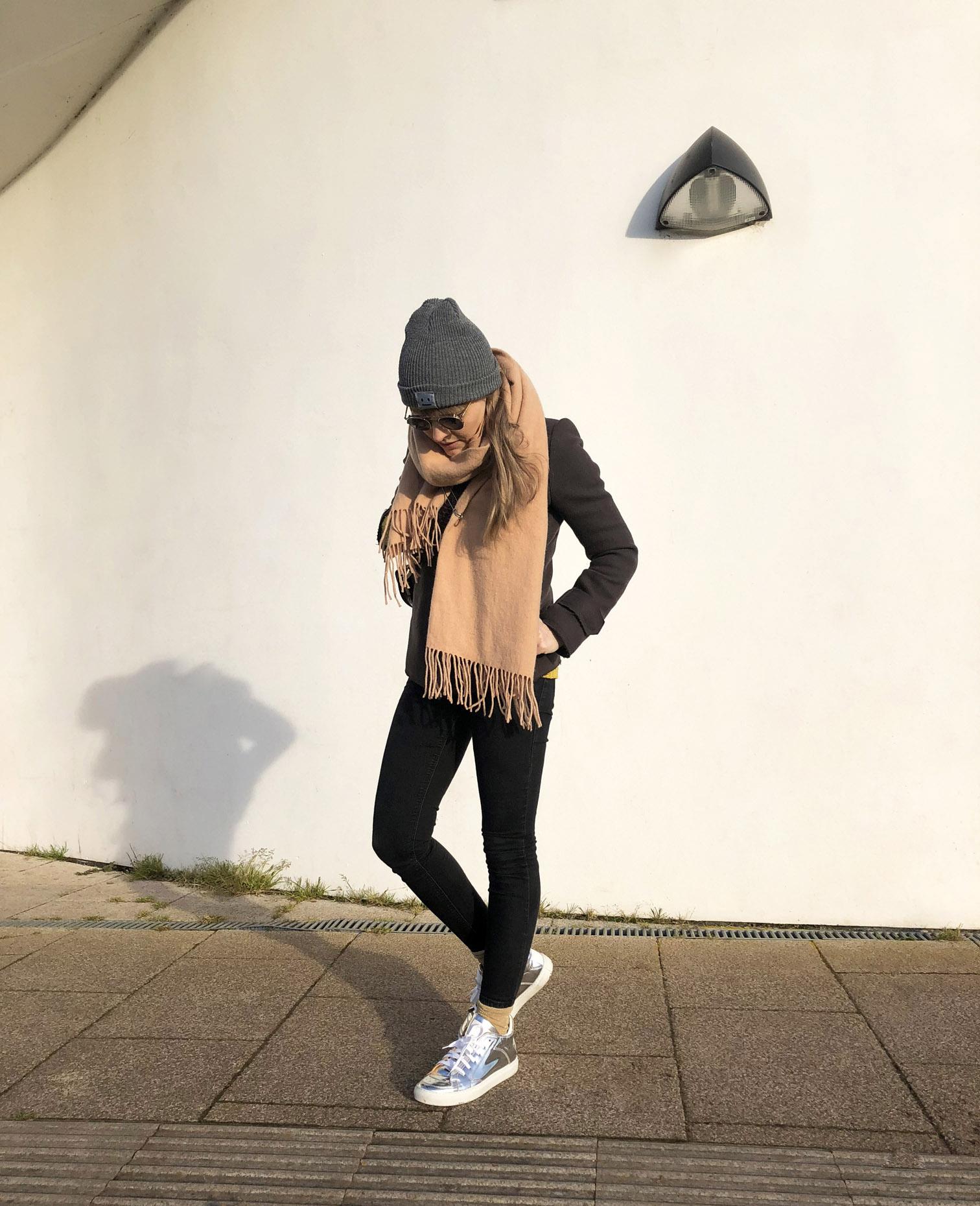 silver metallic shiny sneakers margiela mm6 chylak saddle bag acne studios jil sander moscot zev by fashion art media