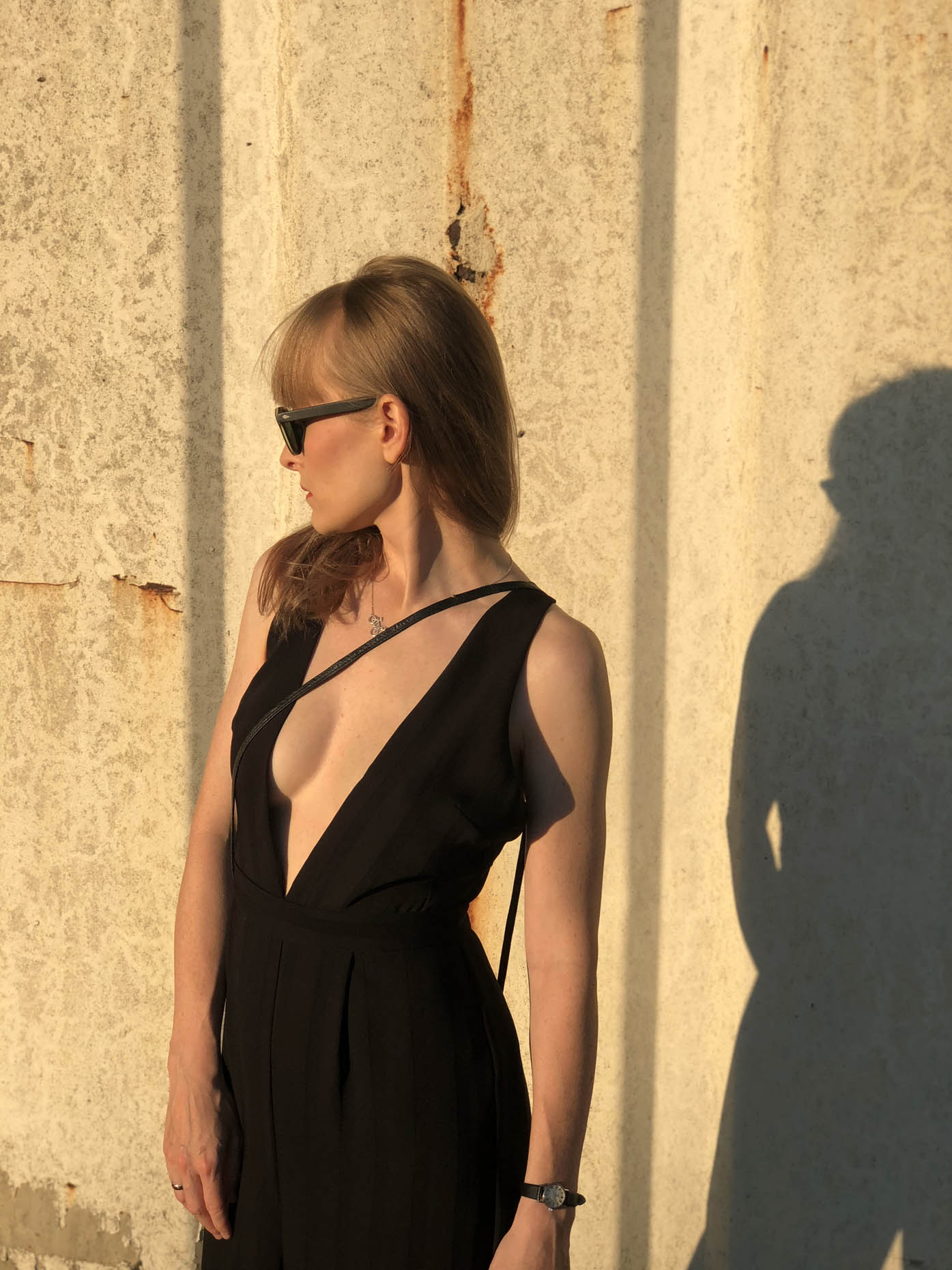 sexy TOPSHOP jumpsuit by FASHION ART MEDIA